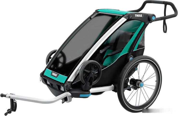 Велоприцеп Thule Chariot Lite (Blue Grass/Black)