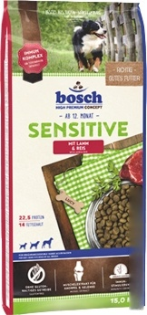 Корм для собак Bosch Sensitive Lamb & Rice 3 кг