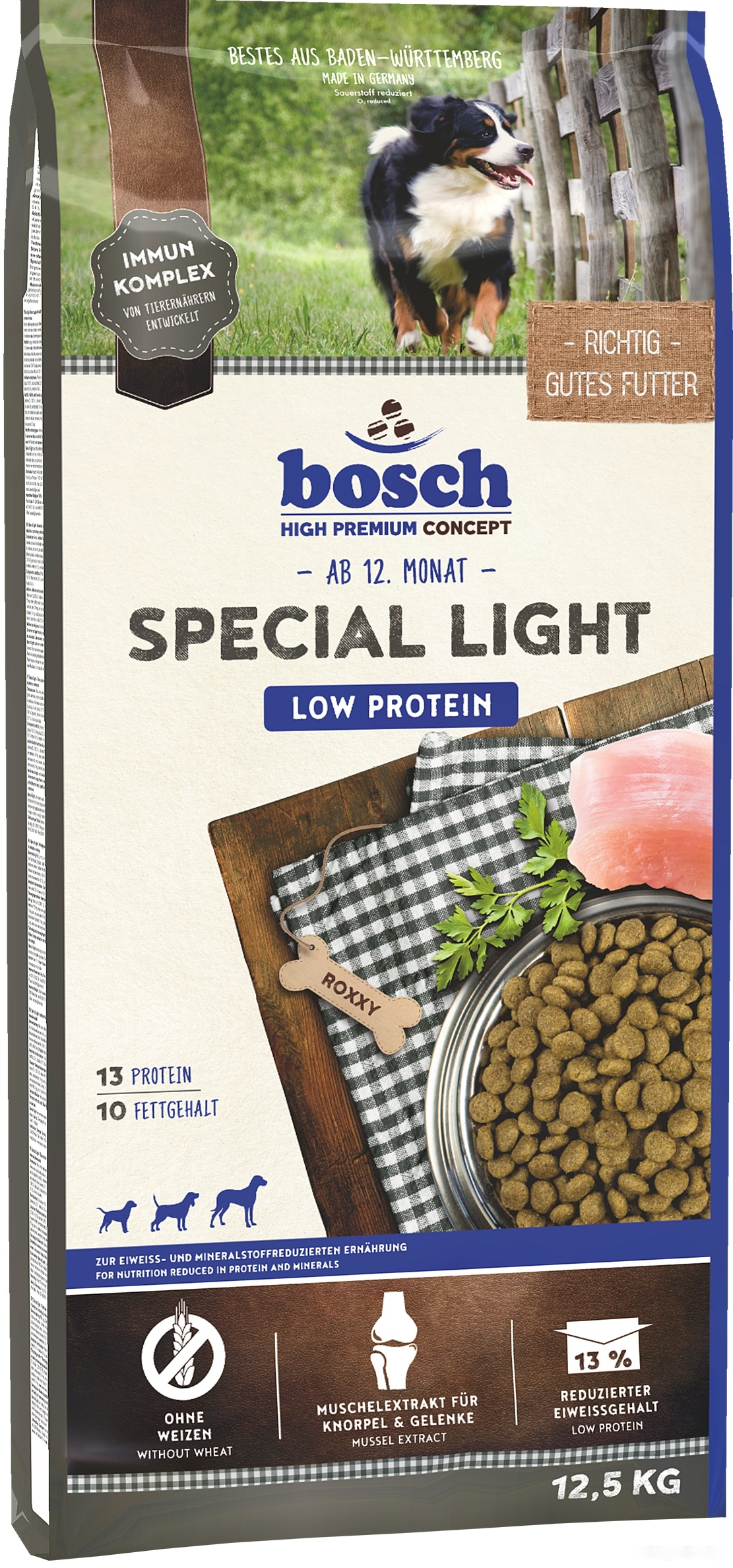 Корм для собак Bosch Special Light 2.5 кг