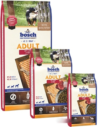 Корм для собак Bosch Adult Lamb & Rice 1 кг