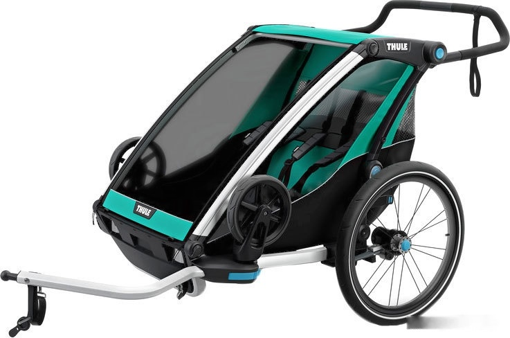 Велоприцеп Thule Chariot Lite 2 (Blue Grass/Black)