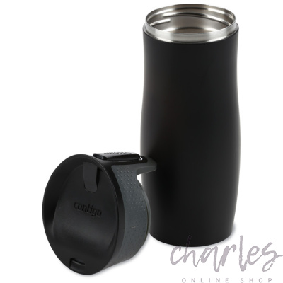 Термокружка Contigo West Loop Matt Black 470 ml 1000-0289