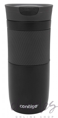 Термокружка Contigo BYRON 16 OZ Matte Black 470 ml 2095663